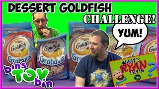 Dessert Goldfish Grahams Challenge & Taste Test! YUMMY! | What