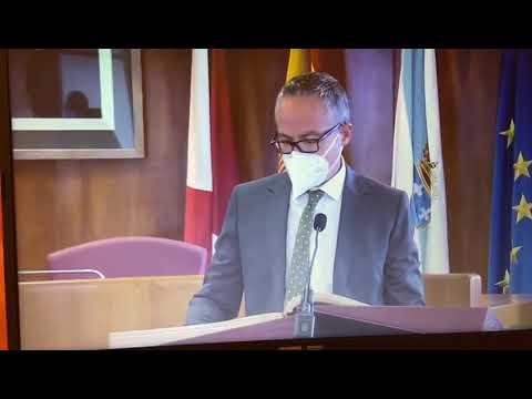 Toma posesión de Pablo Estévez como nuevo concejal en Vigo en sustitución de Isaura Abelairas