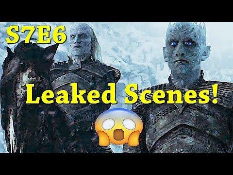 HUGE SPOILERS!! Is The Plot Leak Right?!?  Season 7 Episode 6 Leaked Scenes! - Game of Thrones S7 E6