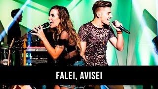 Mariana & Mateus - Falei, Avisei (DVD)