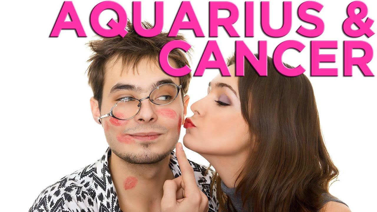 Love compatibility between aquarius woman and cancer man
