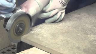 Disco diamantato per il taglio a secco di gres porcellanato alto spessore