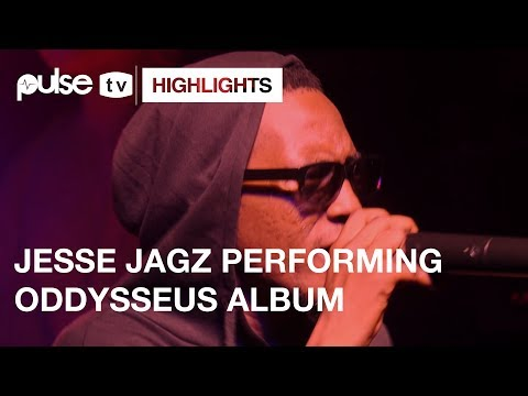 Jesse Jagz  'Odysseus' Album Performance to Selected Listeners at Industry Nite | Pulse TV