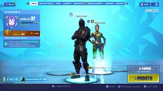 Royal victory. Black Knight. Fortnite ita