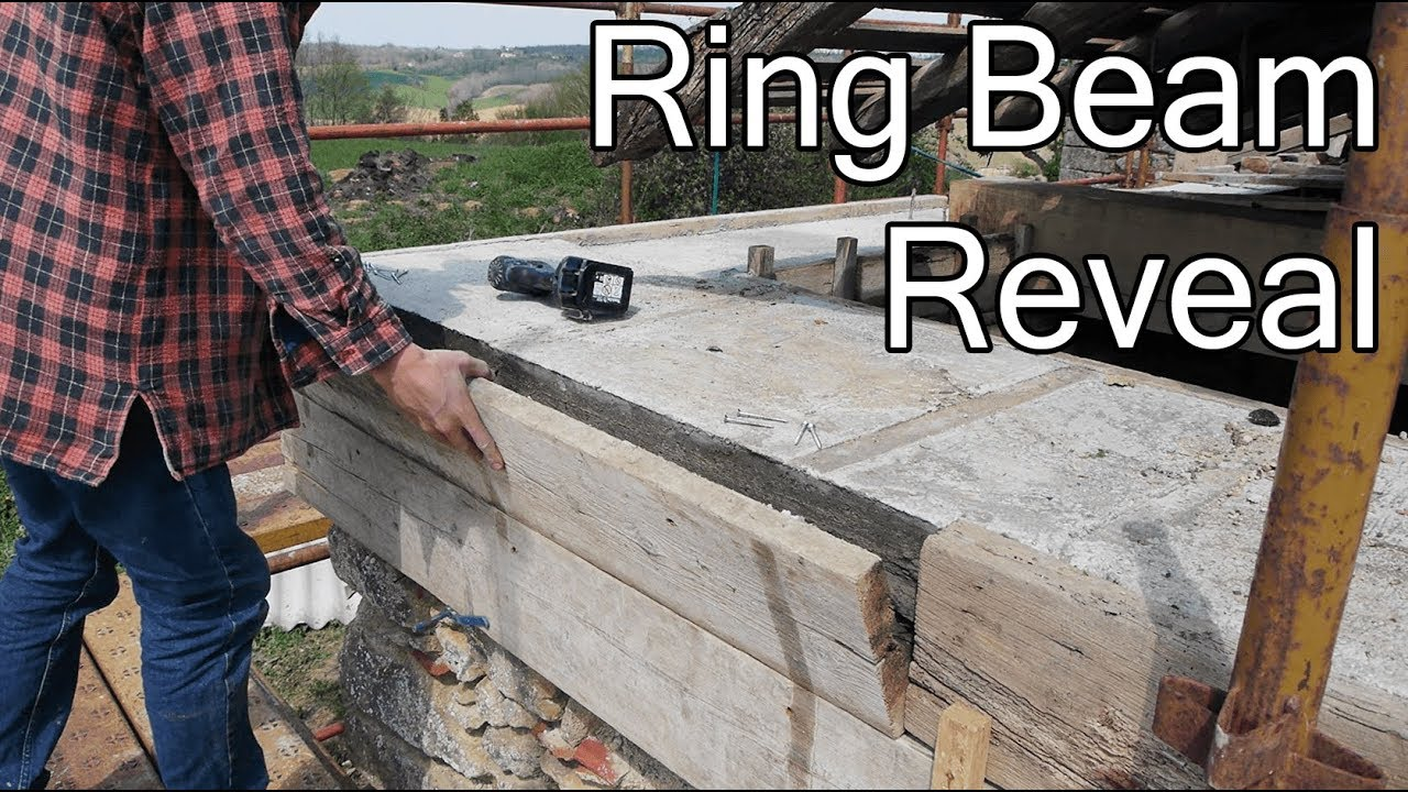 Diy Roof Cured Ring Beam Youtube