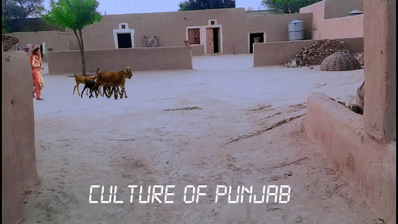 Awesome Mud Houses || Very old culture of living || Life in Pakistani Punjab