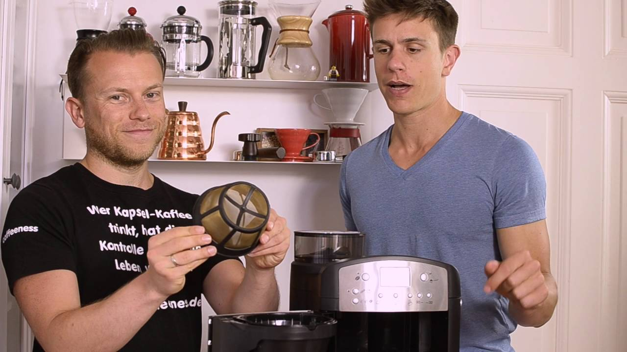 beem fresh aroma kaffeemaschine mit mahlwerk und goldfilter bestes mahlwerk im test youtube. Black Bedroom Furniture Sets. Home Design Ideas