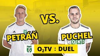 O2 TV Duel: Michal Petráň, Erik Puchel a fotbalový pétanque