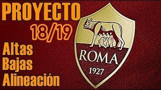 Fichajes AS ROMA 18/19: El reto de MONCHI. Planificación y posible once
