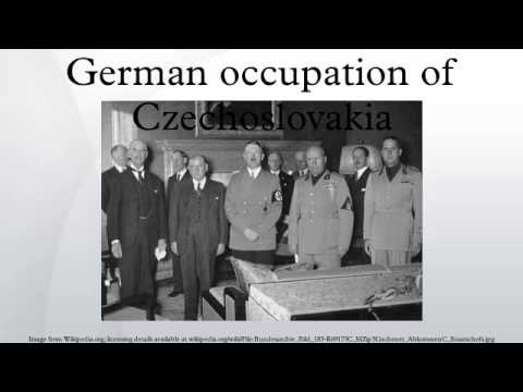 German occupation of Czechoslovakia