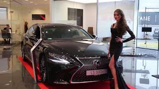 Premiera Lexusa LS500 twin turbo - MAXXX Jazda #7