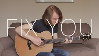 Coldplay - Fix You - Fingerstyle Guitar Cover by James Bartholomew