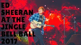Ed Sheeran performs Perfect at the Capital's Jingle Bell Ball 2017