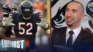 Nick Wright lists all the reasons how the Eagles can upset the Bears | NFL | FIRST THINGS FIRST