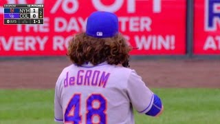 NYM@COL: Bergman and Gray discuss deGrom's hair