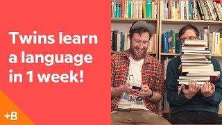 Baixar Identical Twins Attempt To Learn A Language In A Week | Babbel