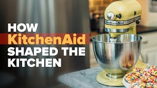 How the KitchenAid stand mixer shaped your kitchen: Paddle, hook and whisk