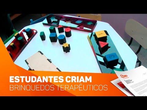 Estudantes criam brinquedos terapêuticos - TV SOROCABA/SBT