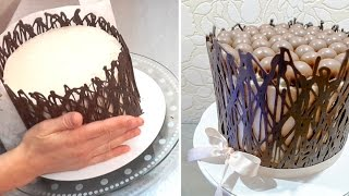 How To Make Chocolate WRAP Cage | CHOCOLATE HACKS by Cakes StepbyStep