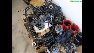 Взгляд изнутри: двигатель Cummins 5.9(Как выглядит мотор Cummins 5.9 изнутри. Подробный процесс дефектовки агрегата., 2016-01-26T04:59:19.000Z)