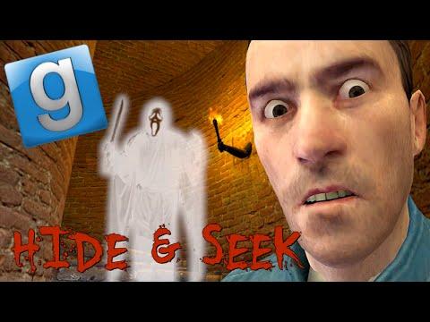 Garry's Mod Hide & Seek Fun - Haunted Manor, Ghosts, Vending Machine Battle