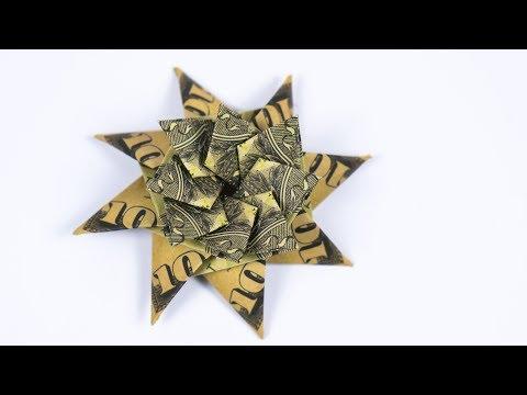 Origami Christmas Star - How to make Origami Christmas Star ...   360x480