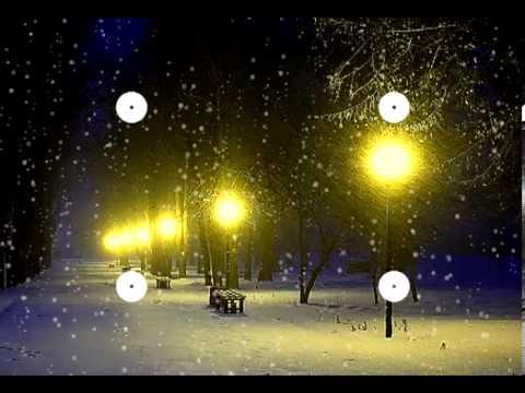 "Волшебная музыка зимы. ""Падал снег"" Music Sergey Chekalin. Very beautiful music!"