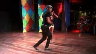 Видео: BACHATA DOMINICANA . Bailan Rodolfo Montaño y Deisy Carrera.