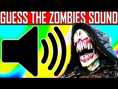 Thumbnail: CAN YOU GUESS THE ZOMBIES SOUND?? (IMPOSSIBLE) Zombies Sound Quiz #6 | w/ JCBackfire
