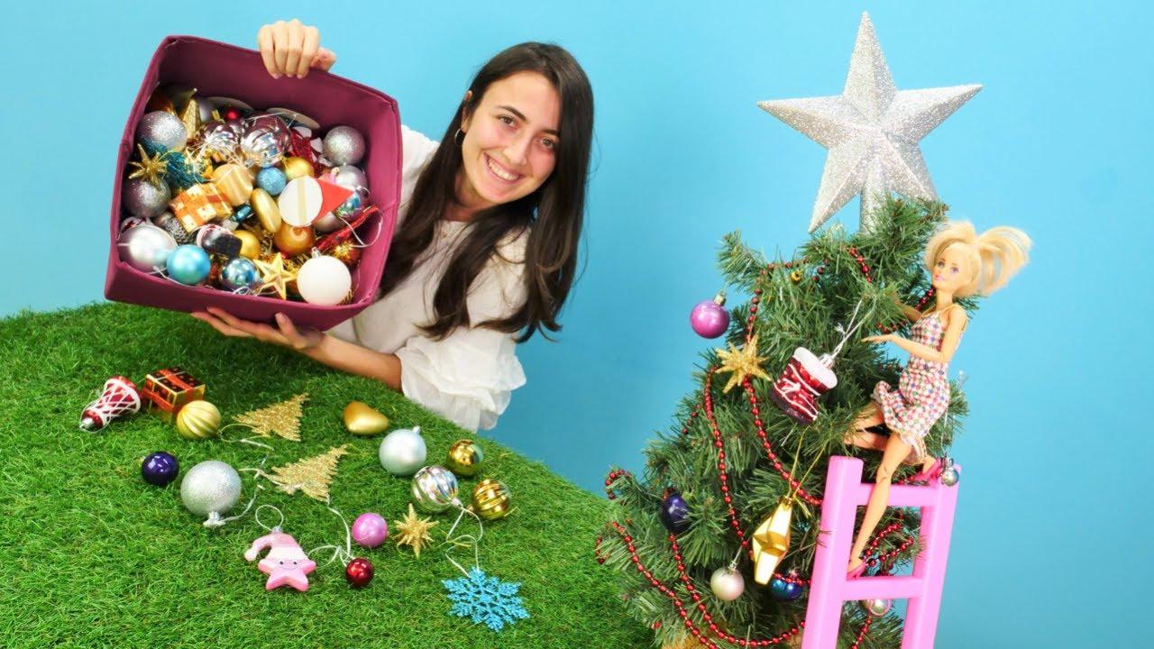 Hayal Ailesi. Barbie ve Sevcan Yılbaşı ağacını süslüyorlar!