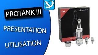 protank 3 kanger bdc test utilisation et remplissage