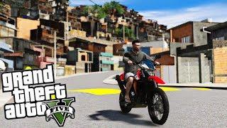 GTA 5 : O MAIOR BAIRRO BRASILEIRO COM FAVELA DO GTA 5! : GTA 5 MODS
