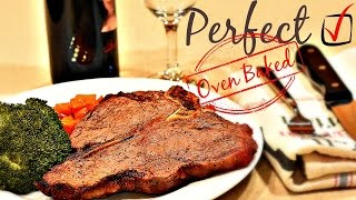 How To Cook Steak In Oven - 5 Tips On Cooking Steak in Oven - Perfect Medium-Rare Steak Recipe