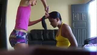Cortando o cabelo em casa