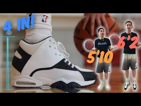 Playing Basketball in Height Increasing