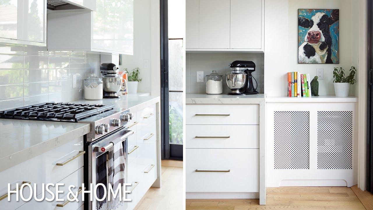 Interior Design  Small Modern Family Home Makeover - YouTube