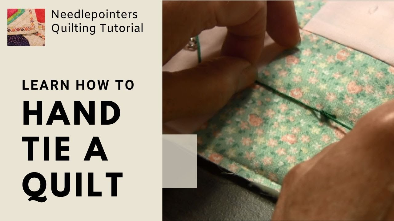 Tying a Quilt - How to tie a quilt - YouTube : how to hand tie a quilt - Adamdwight.com