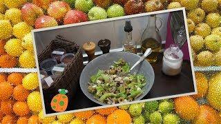 №27. Салат с грибами, оливками и Фетаки