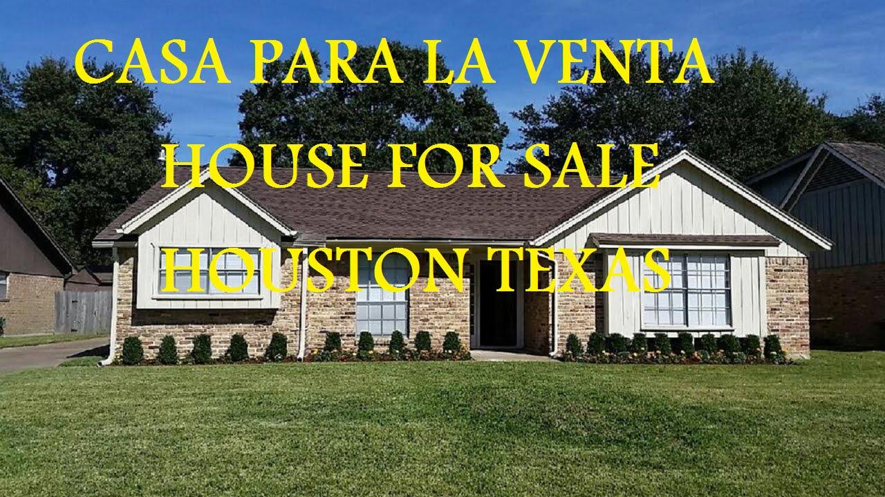 Casa En Venta House For Sale Houston Texas Youtube