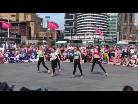 Mersey Girls fight song liverpool pier head