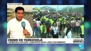 Informe desde Cúcuta: a pocas horas