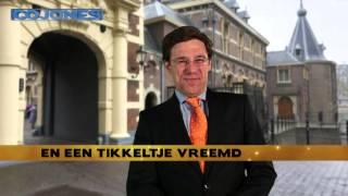 Rutte versus Poetin: spit battle uit COJONES 31-01-2015
