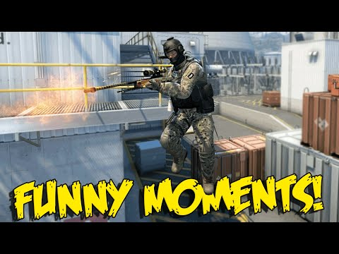 CS:GO FUNNY MOMENTS -  AZZY VS HACKER, MOST INSANE 360 NO SCOPE, ANGRIEST CSGO RAGE