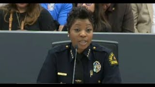 Latino Group Wants Chief Renee Hall Removed