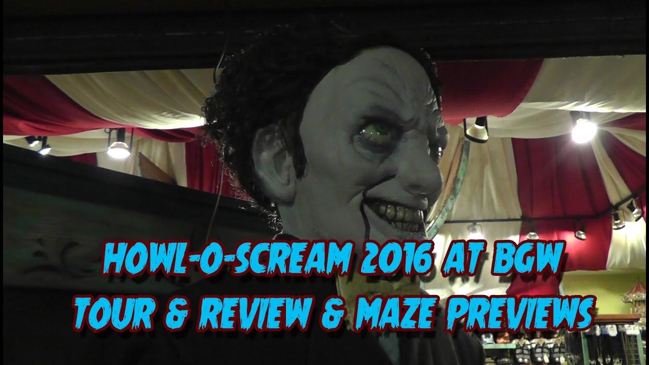 Howl O Scream At Busch Gardens Williamsburg   Tour, Review, Walkthroughs  And More!