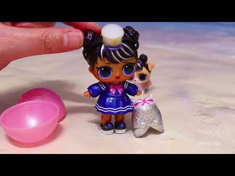 Bubbly Surprise with Mermaid LOL Doll ! Toys and Dolls Fun Play for Kids | SWTAD