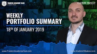 Weekly Trading Summary & Performance - January 18th - Yordan