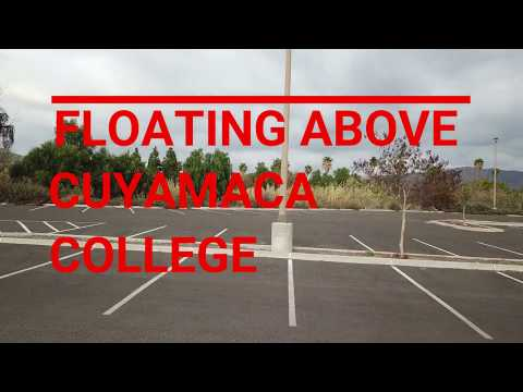 Floating Above Cuyamaca College