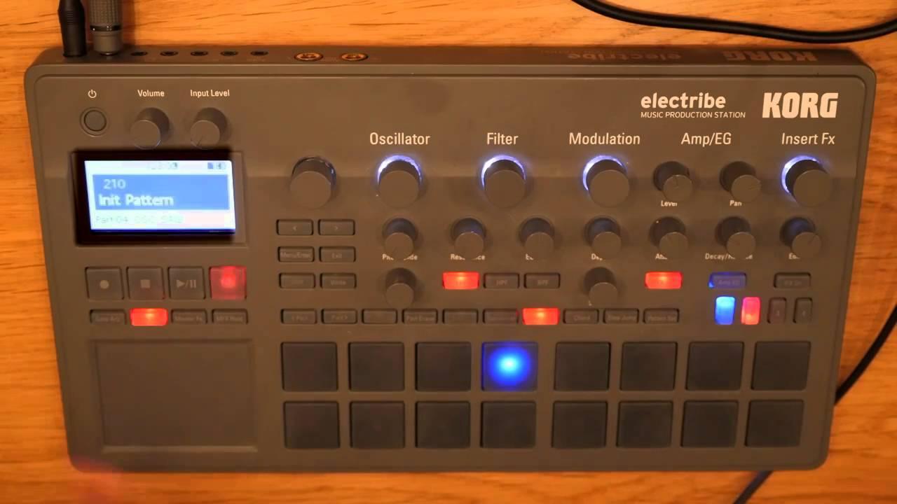 Korg electribe 2 basics tutorial Part 5/ 5 Give them some fx