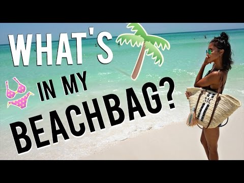 WHATS IN MY BEACH BAG?!